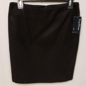 NWT Evan Picone HYDE PARK JBLACK Skirt